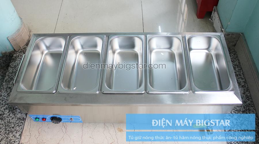 Tủ giữ nóng thức ăn tủ hâm nóng thực phẩm công nghiệp