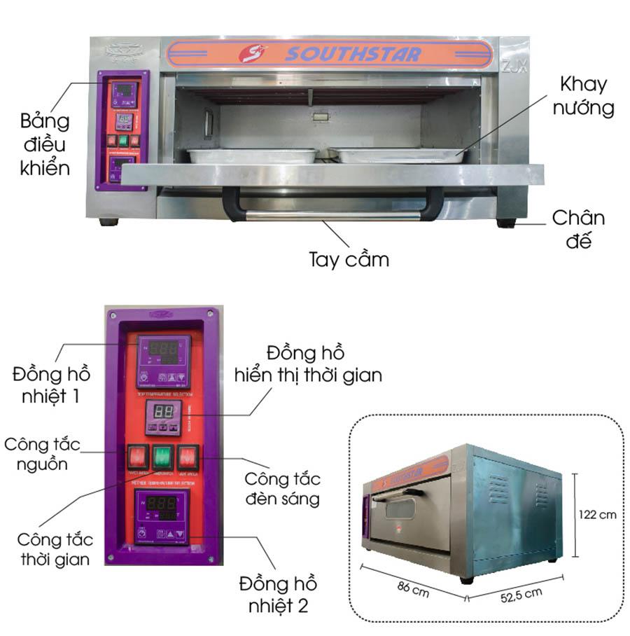 lo-nuong-1-tang-2-khay-dung-dien-yxd-20c