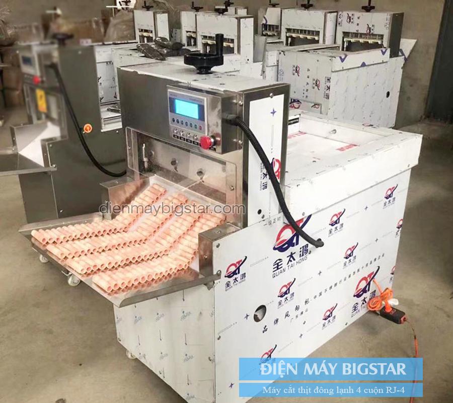 Máy cắt thịt đông lạnh công nghiệp