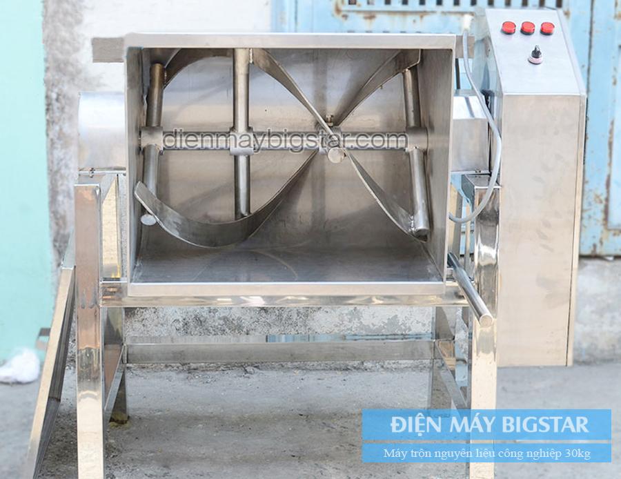 Máy trộn nguyên liệu công nghiệp 30kg